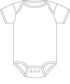 Template for our onesie/bow tie banner. All we need is to