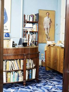 Blogging...The Selby Features Tom Wolfe's Apt | Apartment Therapy