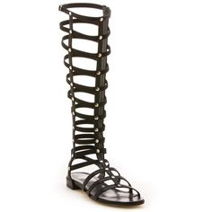 Stuart Weitzman The Gladiator Sandal ($398) ❤ liked on Polyvore featuring shoes, sandals, roman sandals, gladiator shoes, stuart weitzman, gladiator sandal and roman gladiator sandals