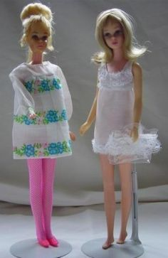 Teri Silver, Francie Doll's Crazy, 'Mod' Clothes 1969, HubPages ©2012 [Photo: Blonde Francie Fairchild® in 1229 Sugar Sheers™ ©1969]