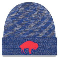 4db862397 Men s Buffalo Bills New Era Royal 2018 NFL Sideline Cold Weather Official  Historic TD Knit Hat