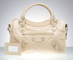 Love this Balenciaga in cream! Perfect present for my upcoming bday!!!