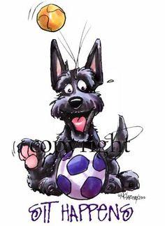 Scottish Terrier - Puppy Sit Happens