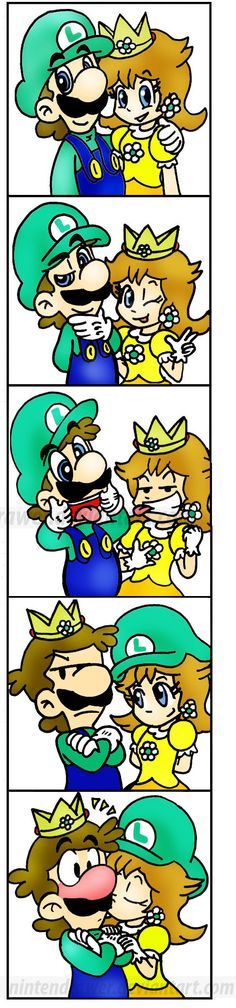 Smile-XD by nintendrawer by Luigi-Daisy-Club.deviantart.com on @deviantART