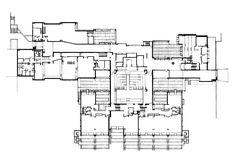 Grenoble Architecture School   Grenoble, France, 1976   Architect: Roland Simounet and Michel Charmont
