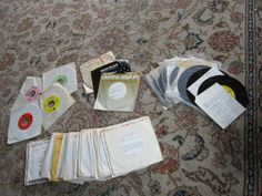 Vintage Records 45s Square Dance 45's with by VistaChick on Etsy, $45.00