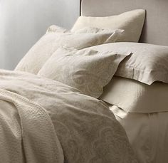 Restoration Hardware - Italian Vintage Fresco Bedding  I ordered this online yesterday!! Cannot wait until it gets here!