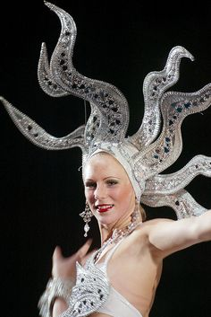 DIAMOND SHOWGIRL HEADDRESS by frank krenz, via Flickr #JulepColorChallenge and #CreateYourJulepColor