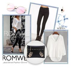 """""""Romwe 04"""" by ermina-camdzic ❤ liked on Polyvore featuring GUESS and romwe"""