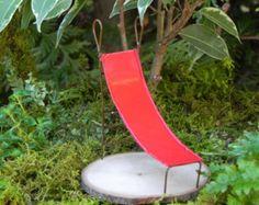 Fairy Garden Accessories miniature Slide by TheLittleHedgerow
