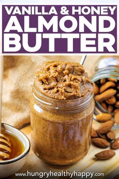 Honey Almond Butter Recipe, Nut Butter, Coffee Recipes, Brunch Recipes, Snack Recipes, Healthy Breakfast Smoothies, Healthy Snacks, Side Dish Recipes, Side Dishes