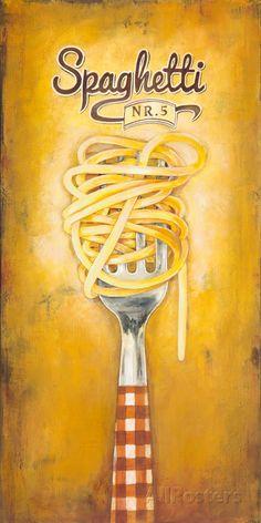 Spaghetti Art Print at AllPosters.com