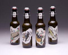 Epiphany Brewing Co. Labels by Kaylen Saxon, via Behance
