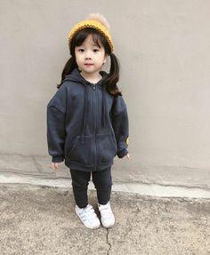 Cute Asian Babies, Korean Babies, Asian Kids, Cute Babies, Cute Baby Boy, Cute Little Baby, Cute Kids, Baby Girl Fashion, Kids Fashion