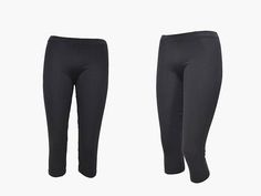 30% Off SALE Cotton Black Women's LeggingsShort