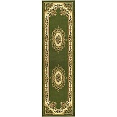 Shop for Safavieh Lyndhurst Traditional Oriental Sage/ Ivory Runner (2'3