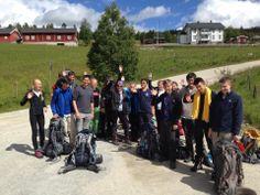 Outward Bound 2014 Rondane Nationalpark, Norwegen Es geht los. Ausstieg! Abmarsch :-)