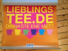 Local LieblingsTee advertising campaign in our home town Cologne!
