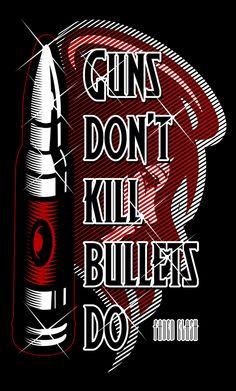 Artist: Paulo Tria aka Flick Picasso Title: Bullet Kills