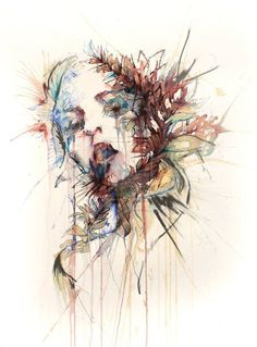 Wow. Abstract portraits