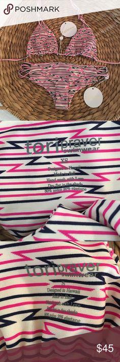 TORI PRAVER BIKINI! TORI PRAVER BIKINI! SIZE SMALL TOP/ XS bottom! Tori Praver Swimwear Swim Bikinis