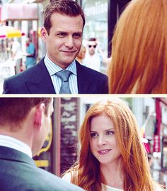 harvey & donna <3 {gif} #suits
