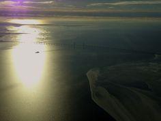 Morning overhead Øresund