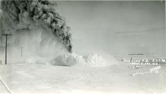 Winter of 1936 near Doyon, ND Steam Engine, Roots, Love, Winter, Pictures, Outdoor, Amor, Outdoors, Photos