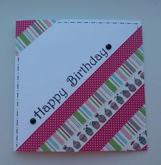 Moostly Cards & Crochet: Serie #42 Washi Tape