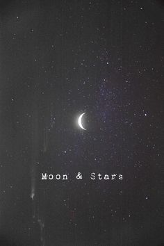 Moon and stars - http://simplysunsigns.com/