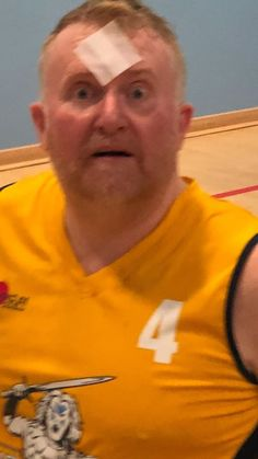 another tough training session for Gary 'Terry Butcher' Davidson feeling the effects of having Gordon and Abdul on court at the same time Sports Clubs, Glasgow, Warriors, Rocks, Polo Ralph Lauren, Training, Mens Tops, Photos, Fashion