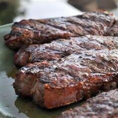 Flat Iron Steak with Three Pepper Rub Recipe - Allrecipes.com