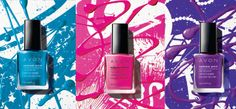 Avon's beauty colors for the Holiday and beyond.