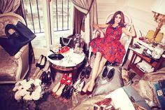 Olivia Palermo and Johannes Huebl for Lifestyle Mirror