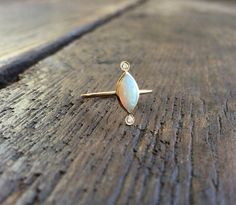 14k Opal Ring by charlieandmarcelle