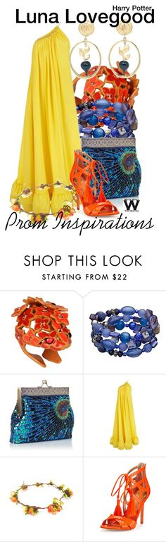 """""""Harry Potter - Prom Inspirations"""" by wearwhatyouwatch ❤ liked on Polyvore featuring Roberto Cavalli, STELLA McCARTNEY, Sam Edelman, Karl Lagerfeld, Prom, harrypotter, wearwhatyouwatch and film"""