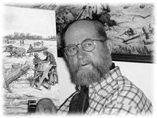 Santa Fe 24 de agosto de 1931. es un pintor, dibujante e historietista argentino. Posee una larga trayectoria como argumentista, ilustrador, dibujante e historietista en importantes revistas, ilustrando argumentos propios.