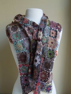 beautiful scarf from the French Needle