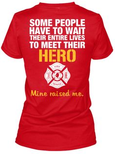 THE FIREFIGHTER'S DAUGHTER - Know a proud daughter of a Firefighter? Then this is perfect. Click the pin to get one now.