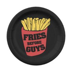 fries before guys paper plate - humor funny fun humour humorous gift idea  sc 1 st  Pinterest & My paper plate fractions. Will be great to use when adding ...