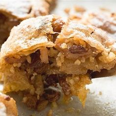 Apple Strudel, a German recipe made easily - http://www.chatelaine.com/recipe/fruits/apple-strudel/