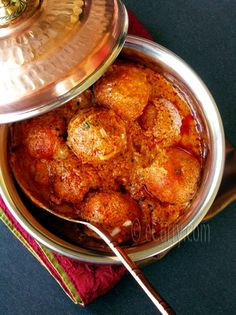 Malai Kofta/Cheese Dumplings Simmered in a Creamy Sauce | eCurry - The Recipe Blog