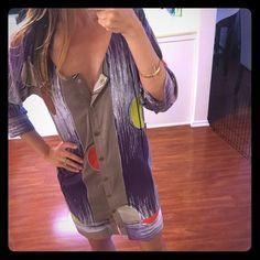 Lauren Moffatt Dresses - Anthropologie Lauren Moffatt circle print dress, size 0
