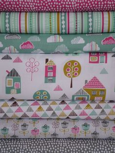 Wendy Kendall, Petite Street Entire Collection 7 in Total. Sooo cute for a little girl bedding