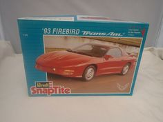 1993 PONTIAC FIREBIRD TRANS AM REVELL 1:25 SCALE SKILL 1 PLASTIC MODEL KIT #6289 #Revell
