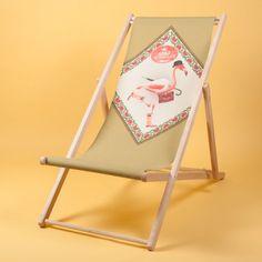 Deckchair longue Flamingo by Bonjour Mon Coussin