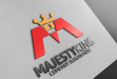 Majesty King Logo by Josuf Media on Creative Market