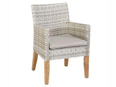 Awesome Great Exotan Gartenstuhl Ibiza Mit Armlehnen Textilene Grau  Gartensthle Gartentisch Und Stuhl With Polyrattan Stuhl Wei With Polyrattan  Stuhl Grau