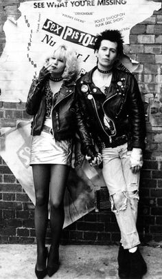 The inspiration of my high school years! Sid and Nancy