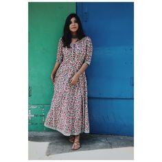 da57494237b Home • Keep Me Stylish. Dots DesignWoman ClothingIndian Designer WearSarisModest  OutfitsMaxi ...